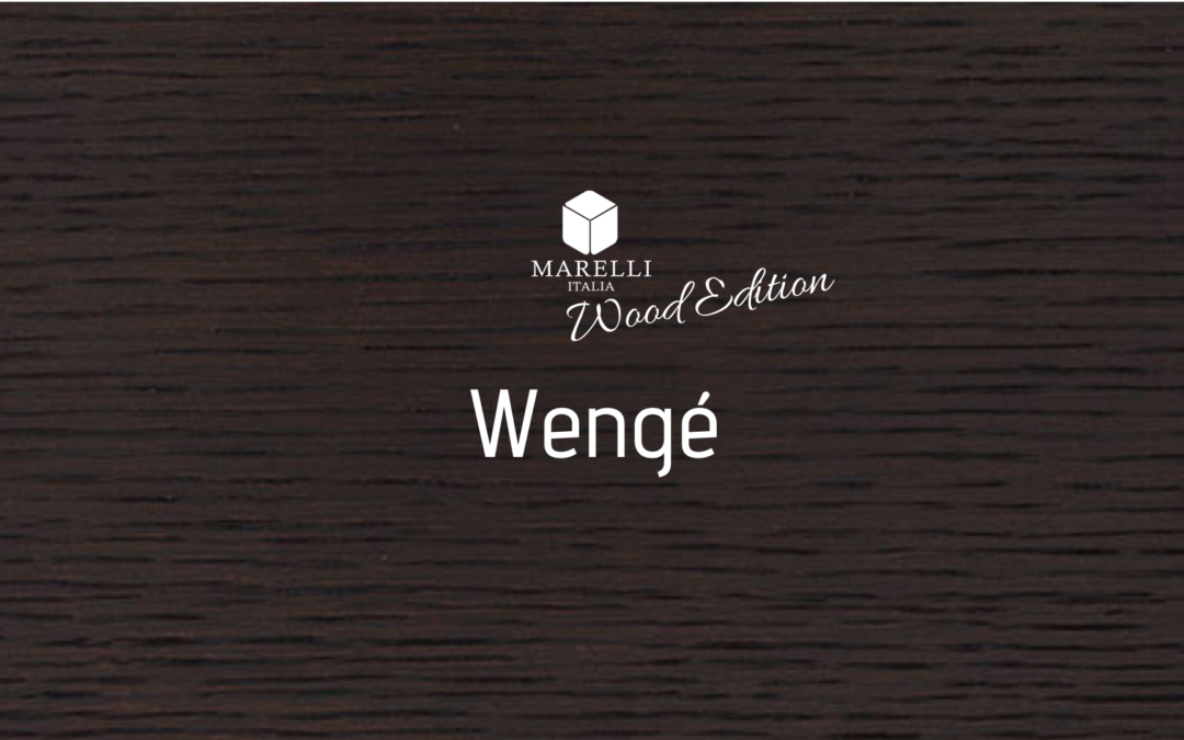 Arredo & Parole – Wood Edition: Wengé