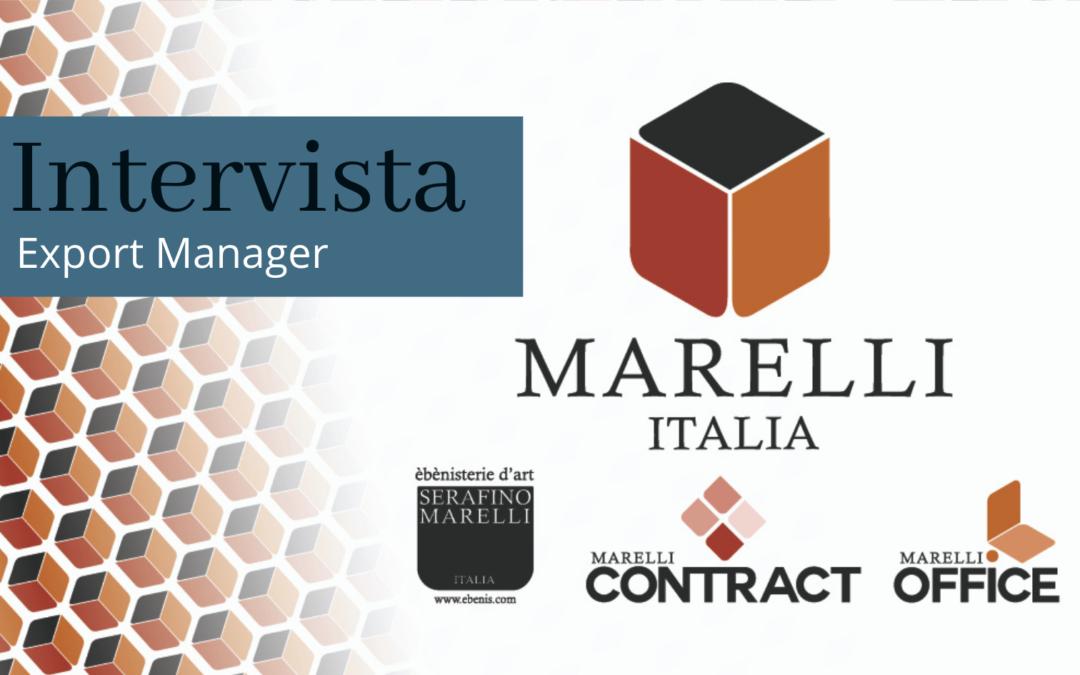 Intervista a Luca Marelli: Export Manager di Marelli Italia
