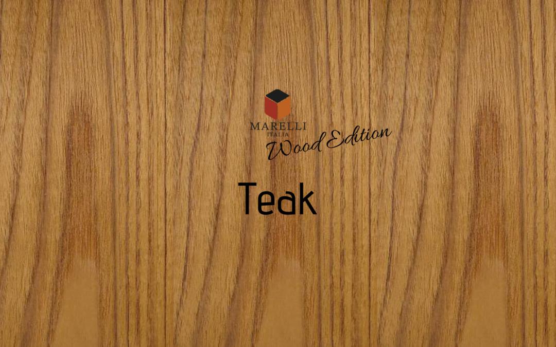 Arredo & Parole – Wood Edition: Teak